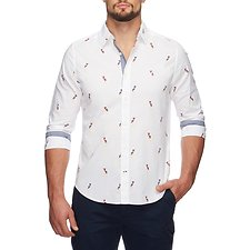 Picture of SAILBOAT PRINT SHIRT