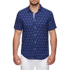 Picture of SS ANCHOR PRINT SHIRT