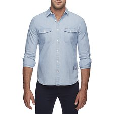 Picture of DENIM LONG SLEEVE SHIRT