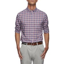Image of Nautica  CLASSIC WRINKLE RESISTANT PLAID SHIRT