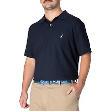 Image of Nautica NAVY Big & Tall Short Sleeve Deck Polo