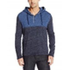 Image of Nautica DEEP SAPPHIRE Big & Tall Block Colour Hoodie