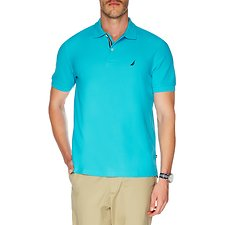 Image of Nautica CALYPSO BLUE Big & Tall Performance Deck Polo