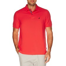 Image of Nautica ROSE CORAL Big & Tall Performance Deck Polo