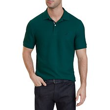 Image of Nautica  BIG & TALL PERFORMANCE  SHORT SLEEVE DECK POLO SHIRT